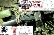Firesupport G&P AEG SALE save up to £150 on selected AEGs