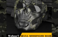 Skull Messenger Mask from WoSport