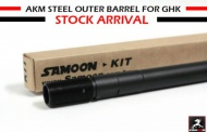SAMOON Steel outer barrel for GHK GKM