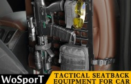 WoSport tactical seatback equipment for car