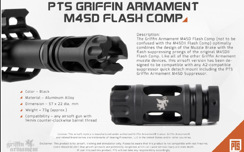 New PTS GRIFFIN ARMAMENT goodies incoming to the store