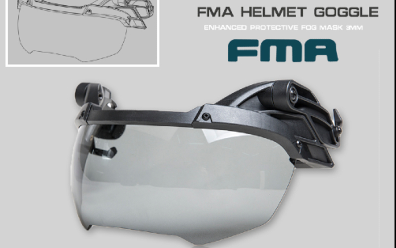 FMA helmet google is here