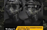 New WoSPort TACTICAL MULTIDIMENTIONAL SPLIT TYPE SET MASK is here