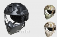 FMA FAST SF Tactical HELMET With Half Mask