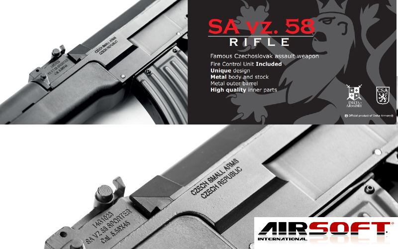 Airsoft International: CSA vz.58 PRE - ORDER